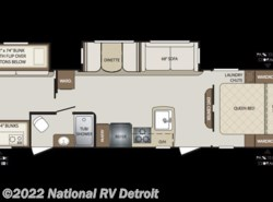 New 2018  Keystone Bullet 308BHS by Keystone from National RV Detroit in Belleville, MI