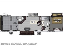 New 2018  Keystone Raptor 398TS by Keystone from National RV Detroit in Belleville, MI