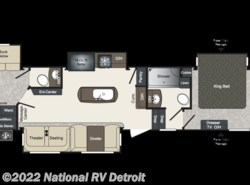 New 2018  Keystone Laredo 367BH by Keystone from National RV Detroit in Belleville, MI