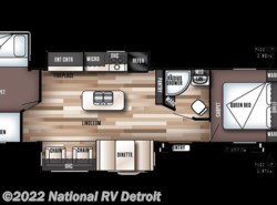 New 2018  Forest River Salem 32BHI by Forest River from National RV Detroit in Belleville, MI