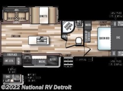 New 2018  Forest River Salem Hemisphere 272RL by Forest River from National RV Detroit in Belleville, MI