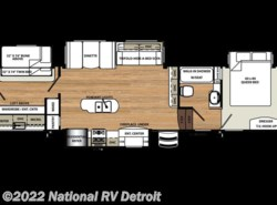 New 2018  Forest River Sandpiper 383RBLOK by Forest River from National RV Detroit in Belleville, MI
