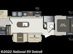 New 2018  Keystone Laredo 332BH by Keystone from National RV Detroit in Belleville, MI
