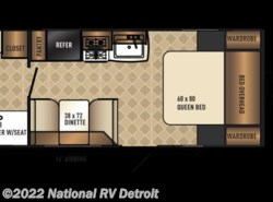 New 2018  Palomino Solaire Ultra Lite 202RB by Palomino from National RV Detroit in Belleville, MI