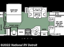 New 2018  Forest River Forester 2421MS by Forest River from National RV Detroit in Belleville, MI