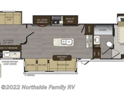 New 2019  Keystone Avalanche 395BH by Keystone from Northside Family RV in Lexington, KY