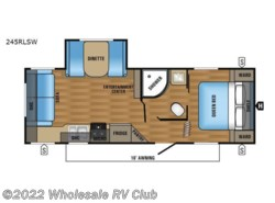 New 2017  Jayco Jay Flight SLX 245RLSW by Jayco from Wholesale RV Club in Ohio