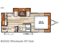 New 2018  Forest River Salem Cruise Lite FSX 200RK by Forest River from Wholesale RV Club in Ohio