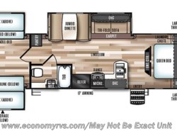 New 2017  Forest River Salem Hemisphere Lite 311QB by Forest River from Economy RVs in Mechanicsville, MD