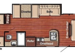 New 2018  Gulf Stream Ameri-Lite 279BH by Gulf Stream from COLUMBUS CAMPER & MARINE CENTER in Columbus, GA