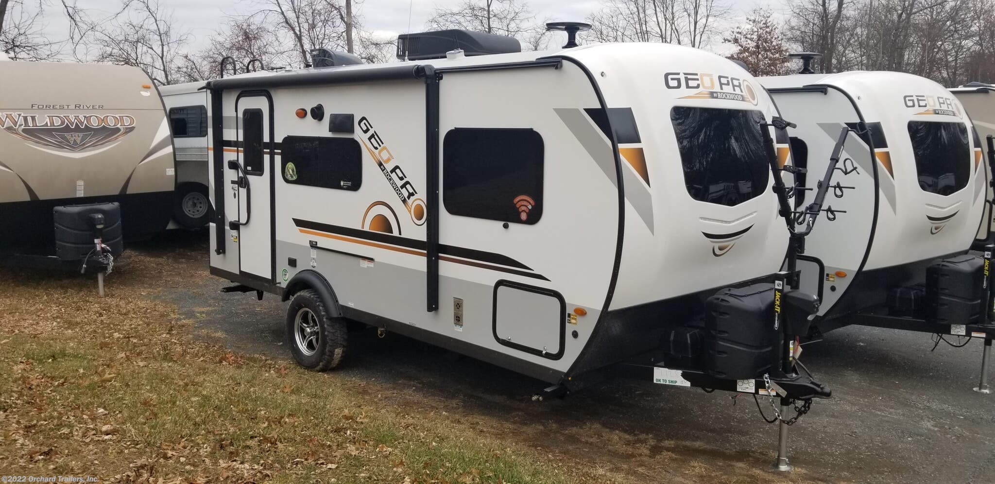Travel Trailer - 2020 Forest River Rockwood Geo Pro G19FBS ...