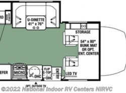 New 2018  Forest River Forester 2401WSD by Forest River from National Indoor RV Centers in Lewisville, TX