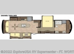 New 2018  Redwood Residential Vehicles Redwood 3901WB by Redwood Residential Vehicles from ExploreUSA RV Supercenter - FT. WORTH, TX in Ft. Worth, TX