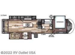New 2019  Forest River Wildwood Heritage Glen 370BL by Forest River from RV Outlet USA in Ringgold, VA