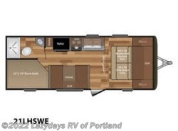 New 2019  Keystone Hideout LHS 21LHSWE by Keystone from B Young RV in Milwaukie, OR