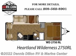 New 2018  Heartland RV Wilderness 2750Rl by Heartland RV from Dennis Dillon RV & Marine Center in Boise, ID