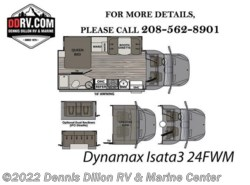 New 2018  Dynamax Corp  Isata 24Fwm by Dynamax Corp from Dennis Dillon RV & Marine Center in Boise, ID