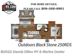 New 2018  Outdoors RV Black Stone 250Rds by Outdoors RV from Dennis Dillon RV & Marine Center in Boise, ID