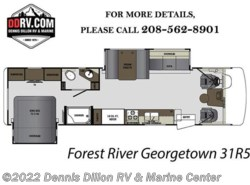 New 2018  Forest River Georgetown 5 Series GT5 31R5 by Forest River from Dennis Dillon RV & Marine Center in Boise, ID