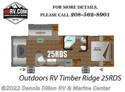 New 2018  Outdoors RV Timber Ridge 25Rds by Outdoors RV from Dennis Dillon RV & Marine Center in Boise, ID