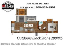 New 2018  Outdoors RV Black Stone 280Rks by Outdoors RV from Dennis Dillon RV & Marine Center in Boise, ID