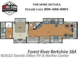 New 2018  Forest River Berkshire 38A