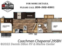 New 2018  Coachmen Chaparral 295Bh by Coachmen from Dennis Dillon RV & Marine Center in Boise, ID