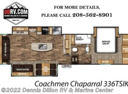 New 2018  Coachmen Chaparral 336Tsik by Coachmen from Dennis Dillon RV & Marine Center in Boise, ID