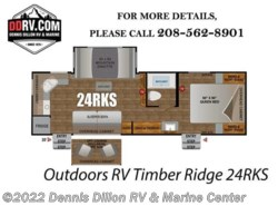 New 2018  Outdoors RV Timber Ridge 24Rks by Outdoors RV from Dennis Dillon RV & Marine Center in Boise, ID