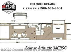 New 2019  Eclipse Attitude 34Crsg by Eclipse from Dennis Dillon RV & Marine Center in Boise, ID