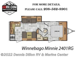 New 2018  Winnebago Minnie 2401Rg by Winnebago from Dennis Dillon RV & Marine Center in Boise, ID