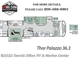 New 2018  Thor Motor Coach Palazzo 36.3 by Thor Motor Coach from Dennis Dillon RV & Marine Center in Boise, ID