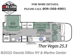 New 2018  Thor Motor Coach Vegas 25.3 by Thor Motor Coach from Dennis Dillon RV & Marine Center in Boise, ID