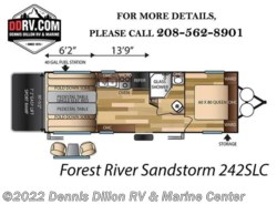 New 2018  Forest River Sandstorm 242Gslc by Forest River from Dennis Dillon RV & Marine Center in Boise, ID