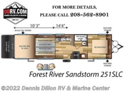 New 2018  Forest River Sandstorm 251Slc by Forest River from Dennis Dillon RV & Marine Center in Boise, ID