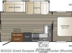 New 2018  Keystone Outback Super-Lite 266RB by Keystone from Great Escapes RV Center in Gassville, AR