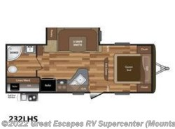 Used 2017  Keystone Hideout LHS 232LHS by Keystone from Great Escapes RV Center in Gassville, AR