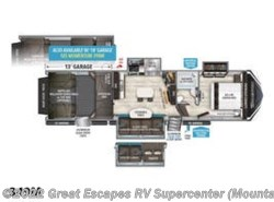 New 2019  Grand Design Momentum 349M by Grand Design from Great Escapes RV Supercenter in Gassville, AR