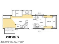 Used 2008  Keystone Sprinter Copper Canyon 294FWBHS by Keystone from Safford RV in Thornburg, VA