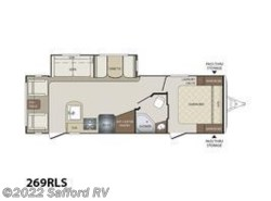 New 2017  Keystone Bullet 269RLS by Keystone from Safford RV in Thornburg, VA