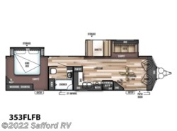 New 2017  Forest River Wildwood Lodge 353FLFB by Forest River from Safford RV in Thornburg, VA
