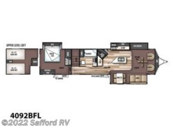 New 2017  Forest River Wildwood Lodge 4092BFL by Forest River from Safford RV in Thornburg, VA