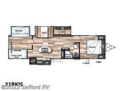 New 2018  Forest River Wildwood 31BKIS by Forest River from Safford RV in Thornburg, VA