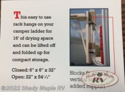 New 2016  Miscellaneous  Red Hill Red Hill Drying Rack  by Miscellaneous from Shady Maple RV in East Earl, PA