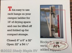 Used 2018  Miscellaneous  Red Hill Red Hill Amish Made Drying Rack  by Miscellaneous from Shady Maple RV in East Earl, PA
