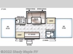 New 2019  Forest River Rockwood Premier 2716G by Forest River from Shady Maple RV in East Earl, PA