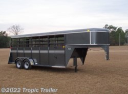 2020 Bee Trailers 6x24 Gooseneck Stock Trailer