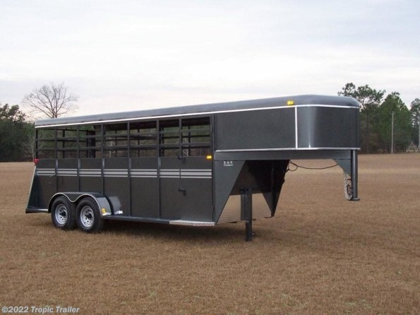 2020 Bee Trailers 6x24 Gooseneck Stock Trailer available in Fort Myers, FL