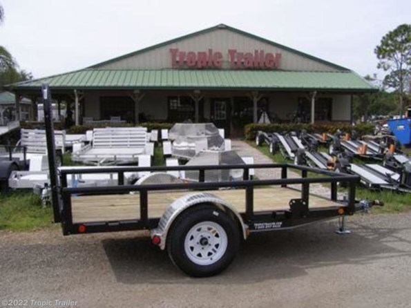 "2020 PJ Trailers Utility 60"" Single Axle Channel  (U6) 10' available in Fort Myers, FL"