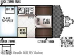New 2018  Forest River Rockwood Hard Side A122BH by Forest River from South Hill RV Sales in Puyallup, WA